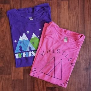 3/$25 NWOT Whistler women's graphic tees bundle